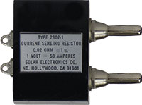 Solar Type 2902-1 Current Sensing Resistor