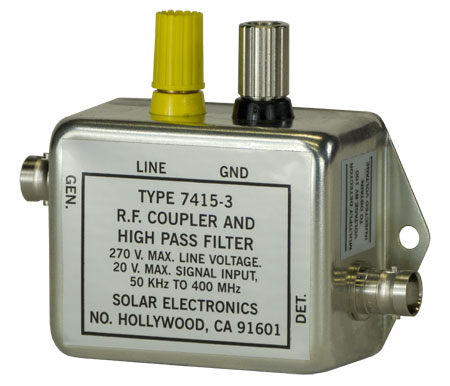 Solar Type 7415-3 RF Coupler and High Pass Filter