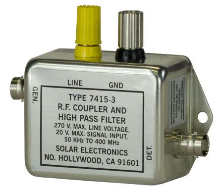 Solar Type 7415-3 RF Coupler and High Pass Filter